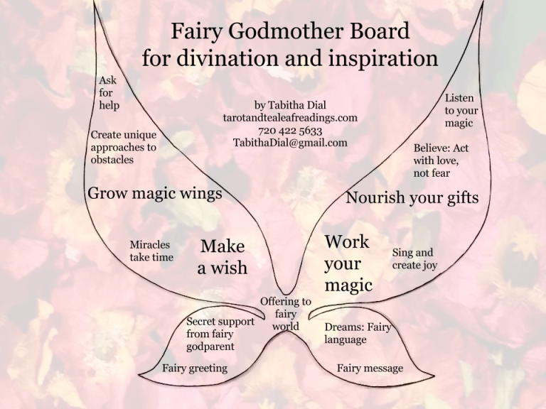 fairy godmother boardwpoppies